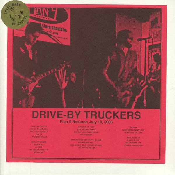 Drive-By Truckers - Plan 9 Records July 13 2006 (New Vinyl) (BF2020)