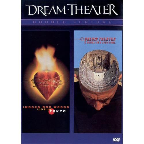 Used DVD - Dream Theater - Images And Words (Live in Tokyo) / 5 Years In A Live Time