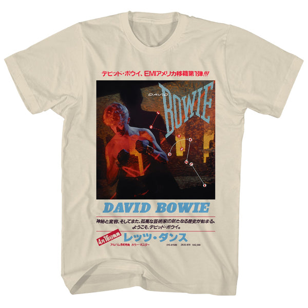 David Bowie -  Lets Dance Japanese Shirt