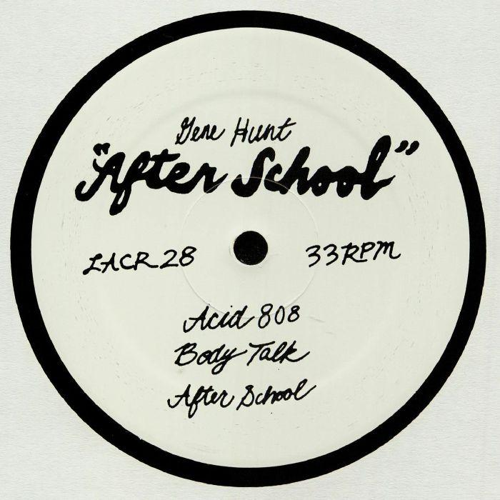 Gene Hunt - After School 12'' (New Vinyl)