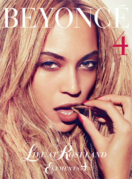 Used DVD - Beyonce - Live At Roseland - Elements Of 4