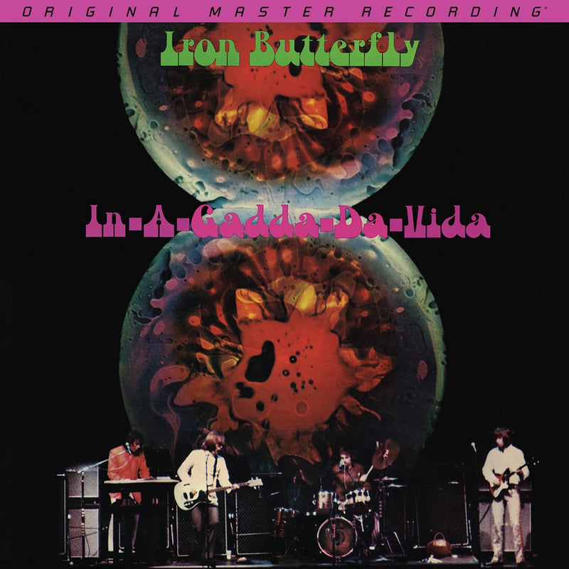 Iron Butterfly - In-A-Gadda-Da-Vida (180g Mobile Fidelity) (New Vinyl)