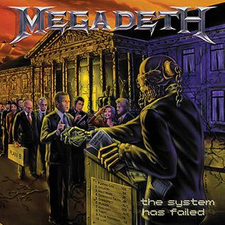 Used CD - Megadeth - System Has Failed