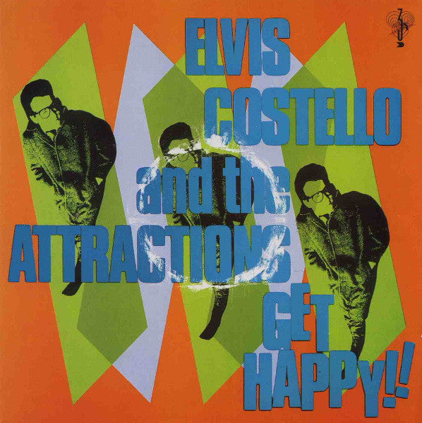 (Used CD) - Elvis Costello & The Attractions - Get Happy!!