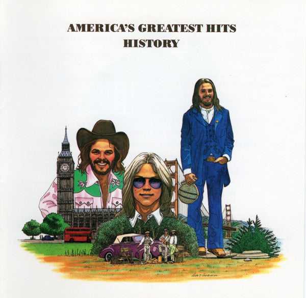 Used CD - America - History: Greatest Hits