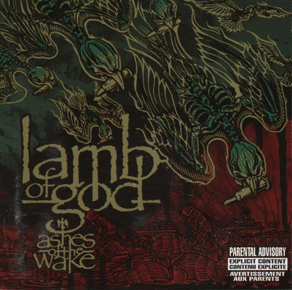(Used CD) - Lamb of God - Ashes of the Wake