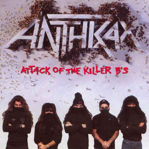 Used CD - Anthrax - Attack Of The Killer Bs
