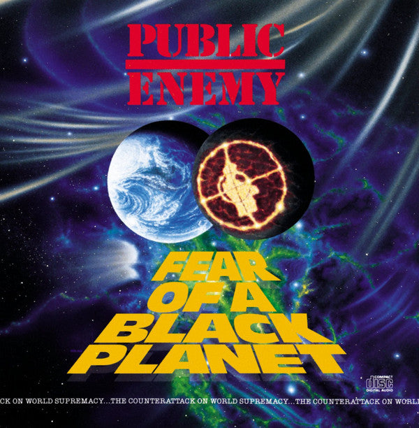 Used CD - Public Enemy - Fear Of A Black Planet