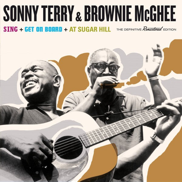 Sonny Terry & Brownie McGhee ‎– Sing/Get On Board/At Sugar Hill (New CD)