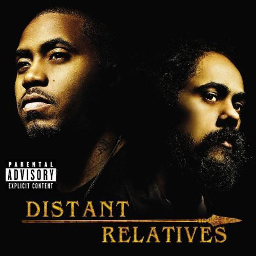 (Used CD) - Nas & Damian Marley ‎– Distant Relatives