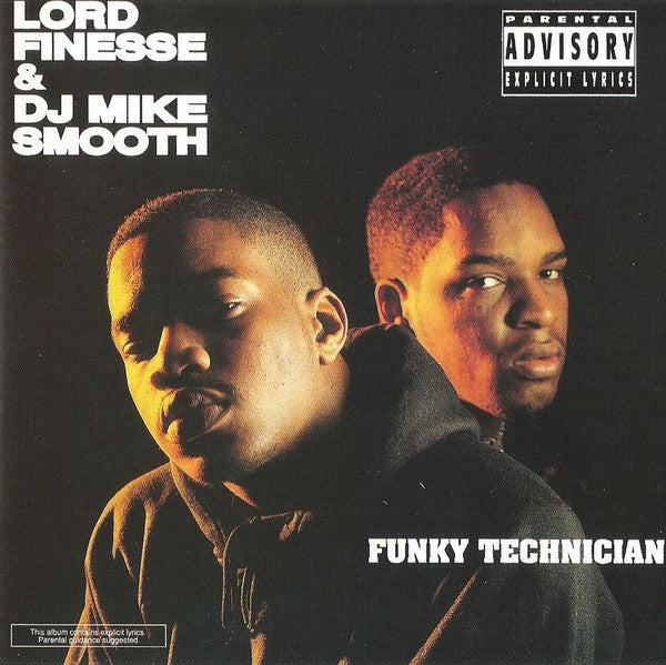 (Used CD) - Lord Finesse & DJ Mike Smooth ‎- Funky Technician