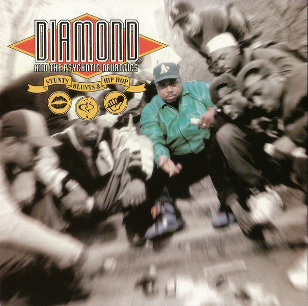 (Used CD) - Diamond And The Psychotic Neurotics ‎– Stunts, Blunts, & Hip Hop