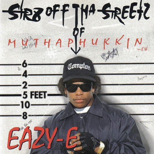 Eazy-E - Str8 Off Tha Streetz Of Muthaphukkin (New CD)