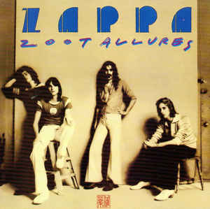 Used CD - Frank Zappa - Zoot Allures