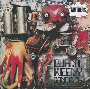 (Used CD) - Frank Zappa W/T Mothers Of Invention - Burnt Weeny Sandwich