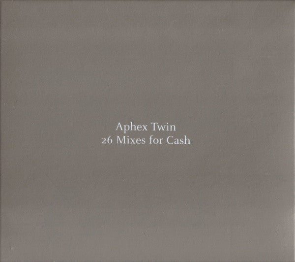 Used CD - Aphex Twin - 26 Mixes for Cash