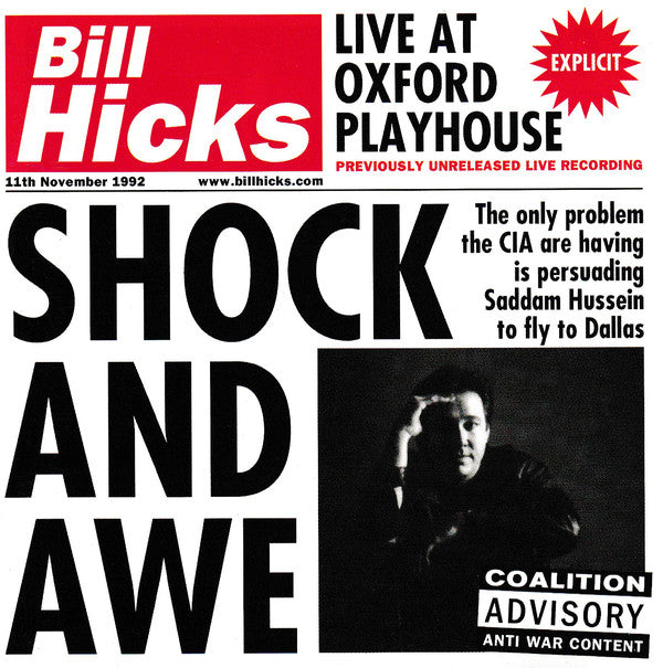 (Used CD) - Bill Hicks - Shock And Awe: Live At Oxford