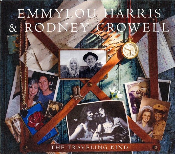 (Used CD) - Emmylou Harris & Rodney Crowell - The Travelling Kind