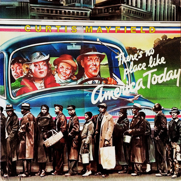Curtis Mayfield - There's No Place Like America Today (Turquoise Colour) (New Vinyl)