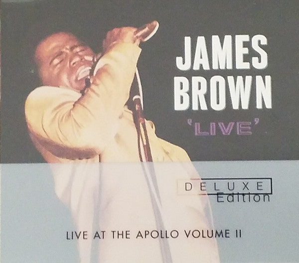 Used CD - James Brown ‎– Live At The Apollo Volume II
