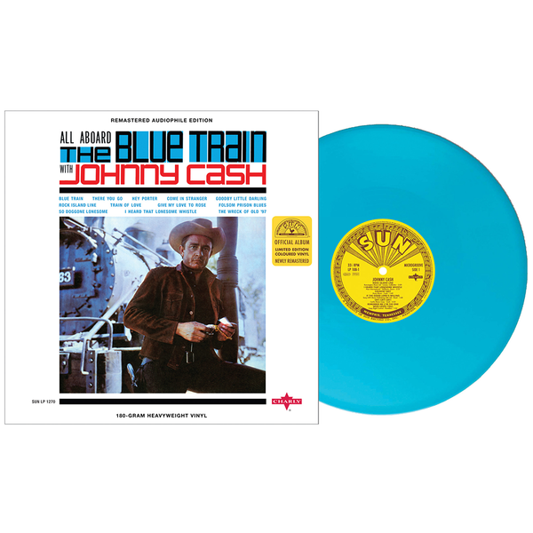 Johnny Cash - The Blue Train (Ltd Colour) (New Vinyl)