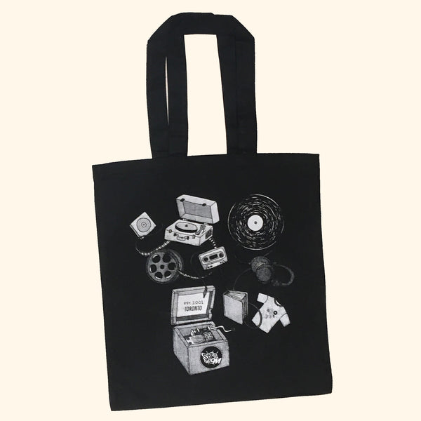Sonic Boom Tote Bag - Music Box Design