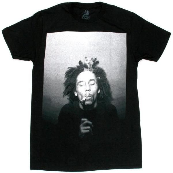 Bob Marley - Spliff Black Shirt
