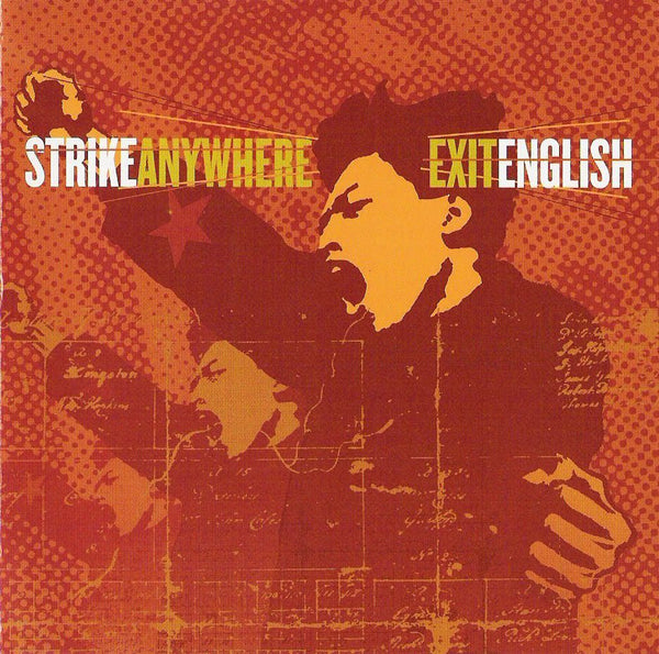 Strike Anywhere - Exit English (Colour Vinyl) (NEW VINYL)