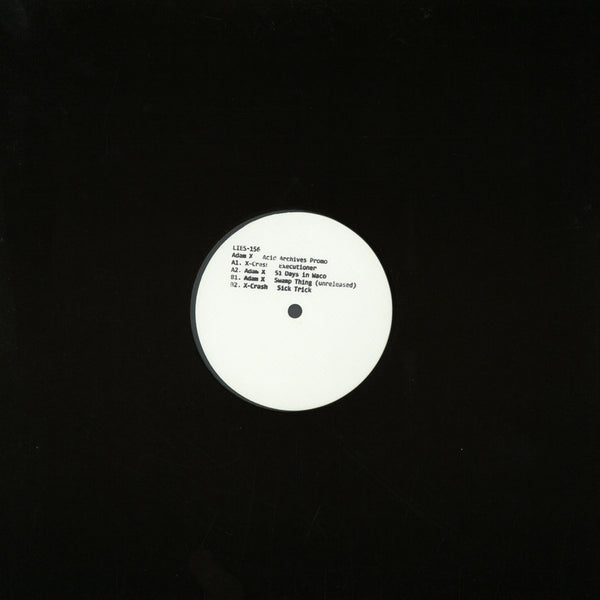 Adam X  - Acid Archives 12'' (New Vinyl)