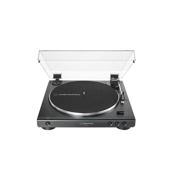 Audio-Technica AT-LP60X Fully Automatic Belt-Drive Turntable ***AVAILABLE AS CURB-SIDE PICKUP ONLY***