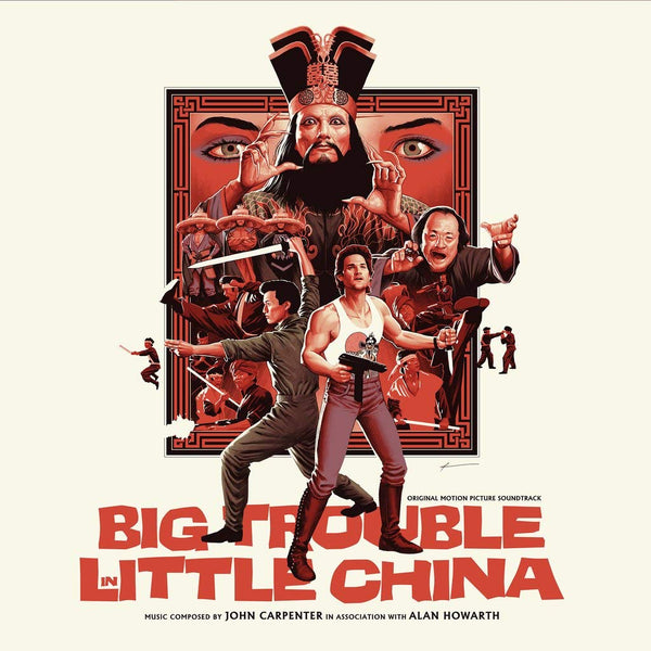 John Carpenter - Big Trouble In Little China [Soundtrack] (New Vinyl)