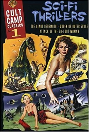 Cult Camp Classics V1 Sci-Fi Thrillers (Eng/R-Pg) (New DVD)