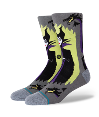 STANCE Socks - Maleficent (GREY)