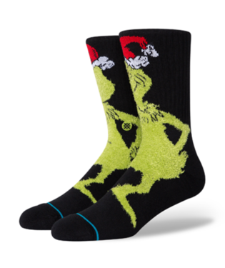 STANCE Socks - Mr Grinch (BLACK)