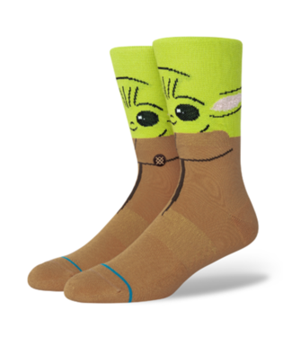 STANCE Socks - Star Wars The Bounty Baby Yoda (GREEN)