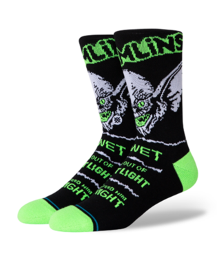 STANCE Socks - Gremlins Bright Light (BLACK)
