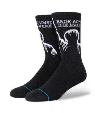 STANCE Socks - Rage Against The Machine Battle Of LA (BLACK)
