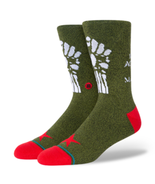 STANCE Socks - Rage Against The Machine Renegades (ARMY GREEN)