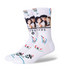 STANCE Socks - Friends The One With The Diner (WHITE)