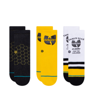 STANCE Socks - Wu-Tang 3-PACK (MULTI) (KIDS SIZE 2-4 YEARS)