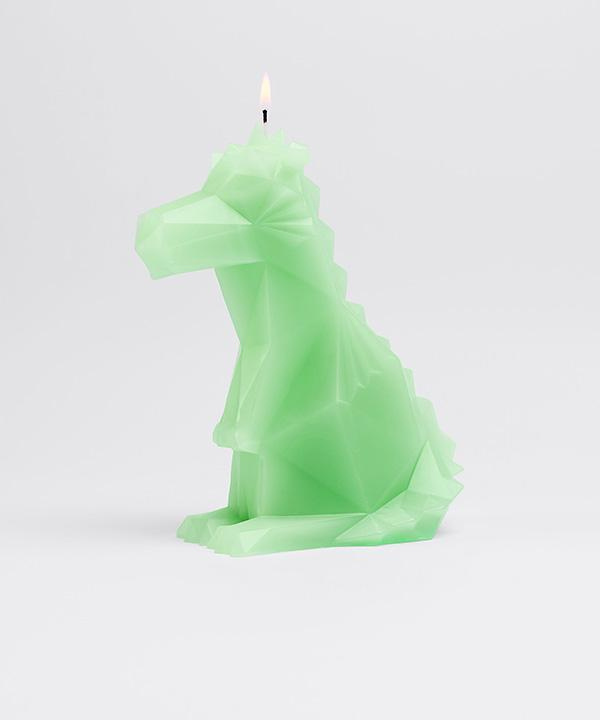 Dreki Neo Mint Pyropet Candle