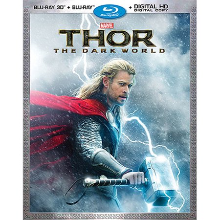 Used 3D Blu-Ray/Blu Ray - Thor: The Dark World (2014)