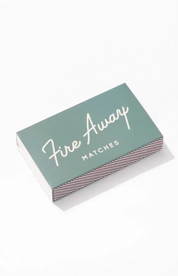 """Fire Away"" Safety Matches"