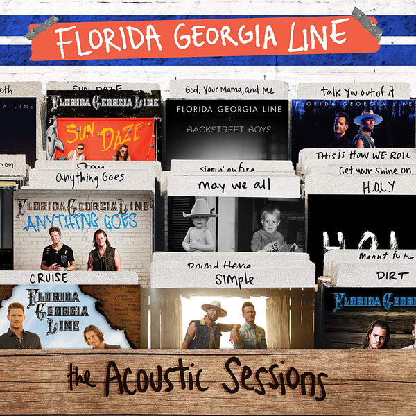 Florida Georgia Line ‎– The Acoustic Sessions (Vinyl)