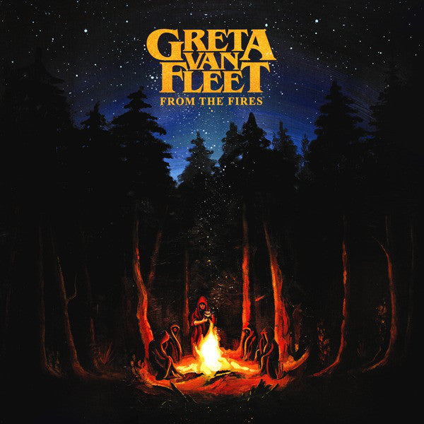 Greta Van Fleet ‎– From The Fires (Vinyl)