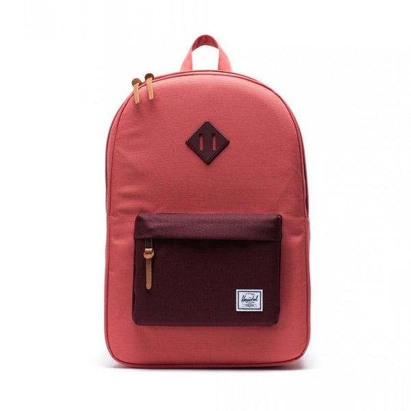 Herschel Supply Co. -  Heritage Backpack Mid-Size (Mineral Red/Plum)