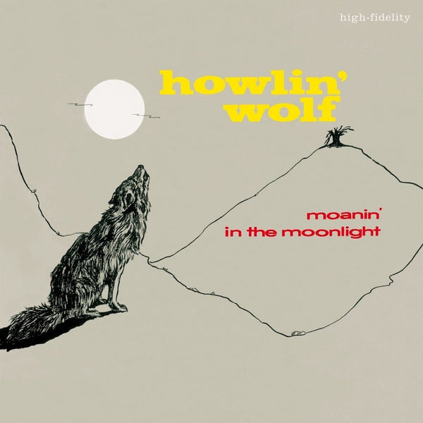Howlin' Wolf ‎– Moanin' In The Moonlight (New Vinyl)