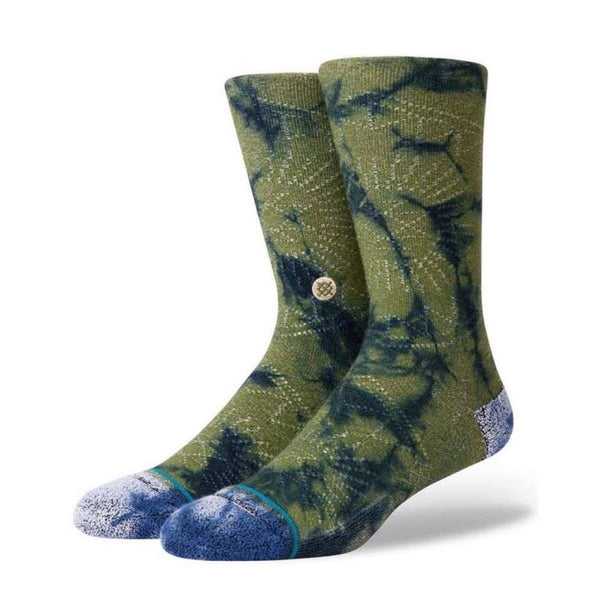 STANCE Socks - Monte Claro Crew (Army Green)