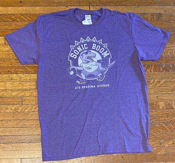 Sonic Boom T-shirt - Raptors (Purple)