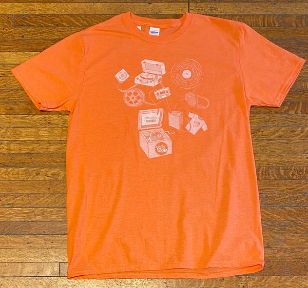 Sonic Boom T-Shirt - Music Box Peach